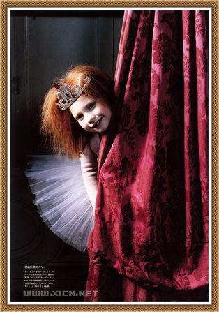皇室里的小公主